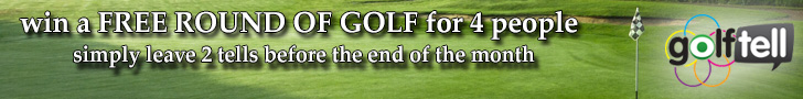 win a FREE round of golf for 4 people